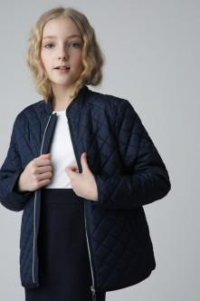 Синяя демисезонная куртка Gulliver Gulliver Wear 220GSGC4101 синего цвета