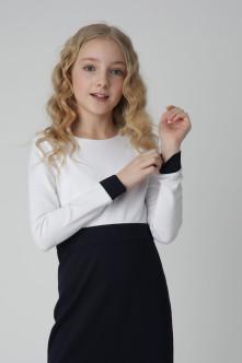 Бело-синее платье Gulliver
