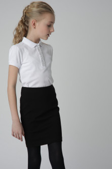 Black jersey skirt Gulliver