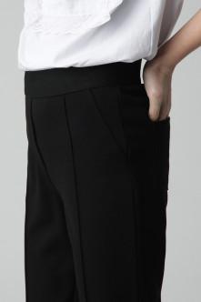 Черные брюки из джерси Gulliver