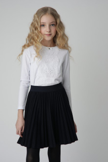 Blue pleated skirt Gulliver