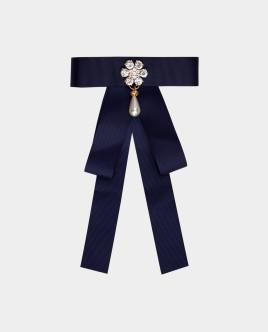 Синий галстук-бант Gulliver
