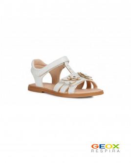 Бежевые сандалии Geox