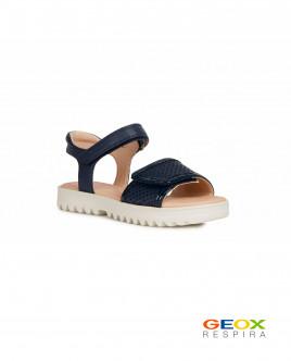 Синие сандалии Geox