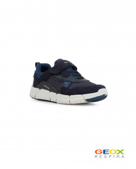 Синие кроссовки Geox для мальчика