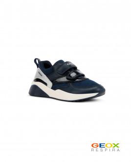Черные кроссовки Geox для девочки