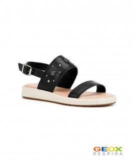 Черные сандалии Geox Gulliver