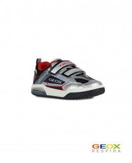 Серые кроссовки Geox для мальчика