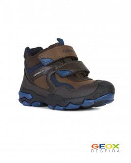 Коричневые ботинки Geox Gulliver