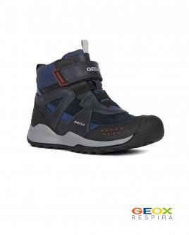 Синие ботинки Geox Gulliver