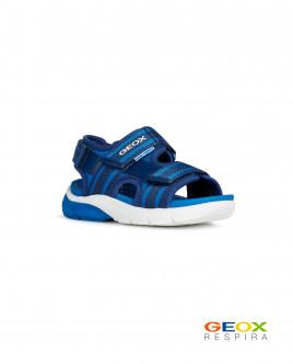 Синие сандалии Geox для мальчика Gulliver