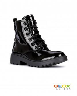Черные ботинки Geox Gulliver