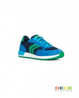Синие кроссовки Geox для девочки
